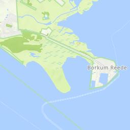 Borkum Karte Fahrradwege.Radwege Und Routen In Und Um Borkum Bikemap Deine Radrouten
