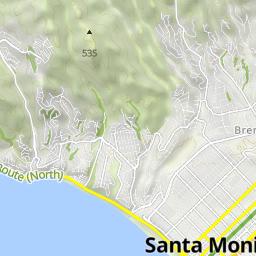 Radwege und Routen in und um Santa Monica | Bikemap - Deine ...