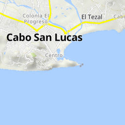 Cycling routes and bike maps in and around Cabo San Lucas ...