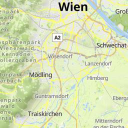 Wien Pottenstein Mopedmap Your bike routes online