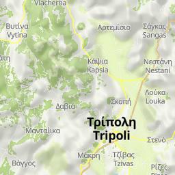 Peloponnes Karte.Radwege Und Routen In Und Um Peloponnese Bikemap Deine Radrouten