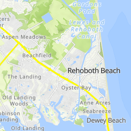 All Cycle Routes In Rehoboth Beach