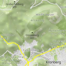 wandern feldberg taunus hohemark