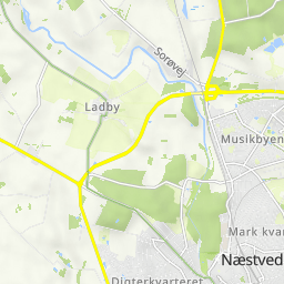 Cycling routes and bike maps in and around Næstved | Bikemap - Your ...
