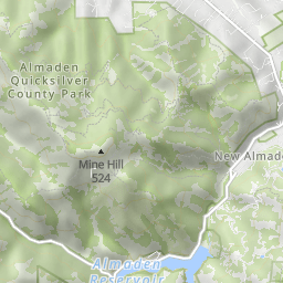 Almaden Quicksilver County park - Randol/Mine Hill Loop ...