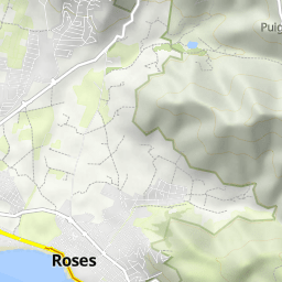 Castell dEmpries Roses GR 92 Wandermap Your hiking routes