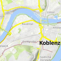 Karte Koblenz.Ruppertsklamm Bei Koblenz Wandermap Deine Wanderrouten Im Web