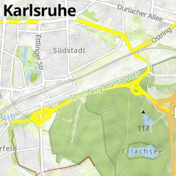 Karlsruhe Etlingen Karlsruhe Mopedmap Twoje trasy rowerowe w sieci