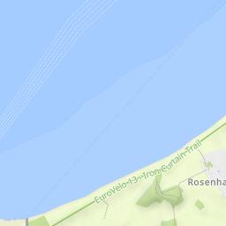 Priwall Karte.Travemunde Strand Und Priwall Wandermap Deine