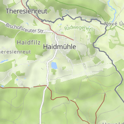 Dreiländereck Bayerischer Wald Karte.Dreisessel Dreiländereck Hochstein Wandermap Deine