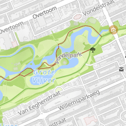 Vondelpark Runmap Your running routes online