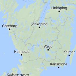European Long Distance Path E Part Sweden Wandermap Your - Sweden map distance