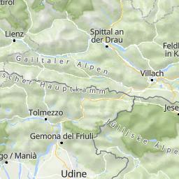 Sudtirol Karte Osterreich Italien.Osterreich Karte Fur Ihre Urlaubsplanung