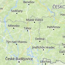 Bildergebnis für Milevsko landkarte