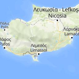 gps karte zypern